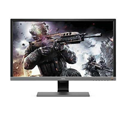 photo du moniteur pc gamer 4K BenQ EL2870U