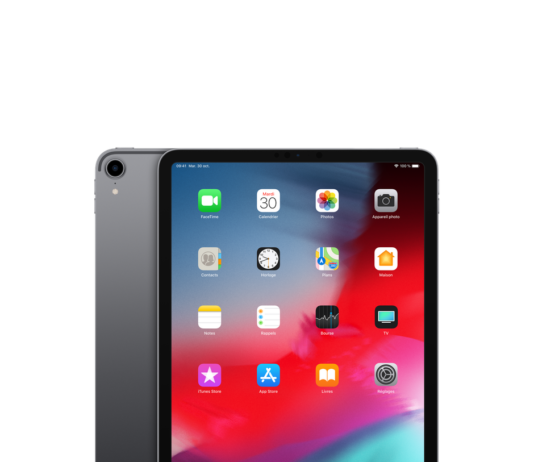 photo de la tablette ipad pro 11