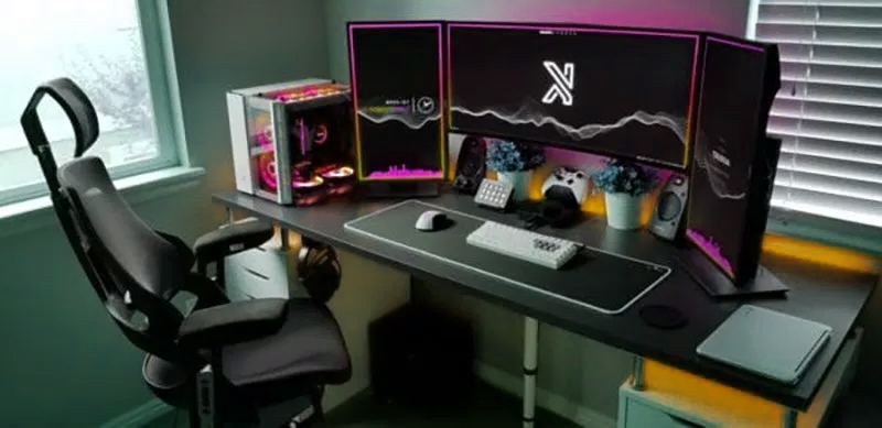 image d'une chaise de gaming pro